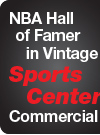 NBA Hall of Famer in Vintage SportsCenter Commercial
