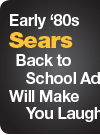 Early '80s Sears Back to School Ad Will Make You Laugh