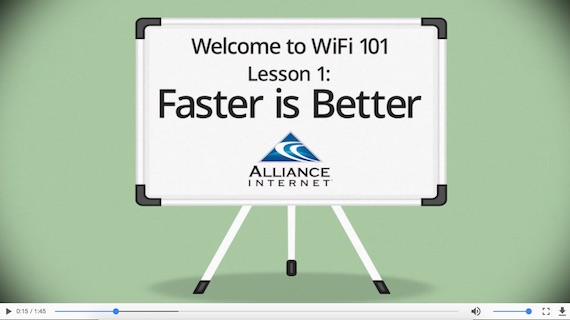 Faster WiFi