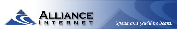 Link to Alliance Internet