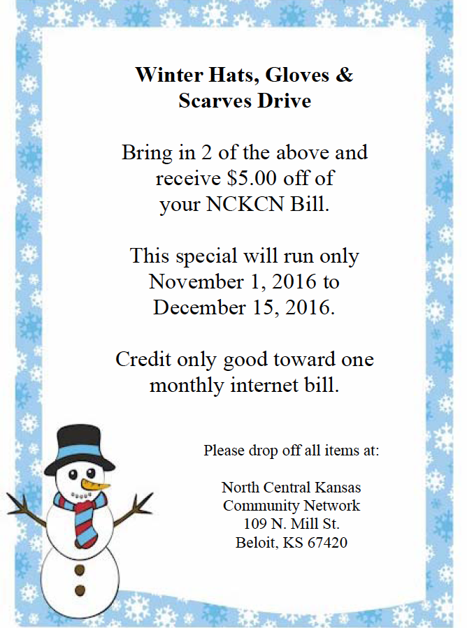 Winter Hat Drive