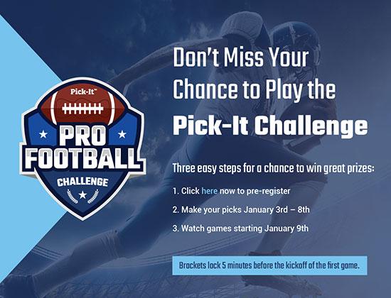 Pick It Challenge