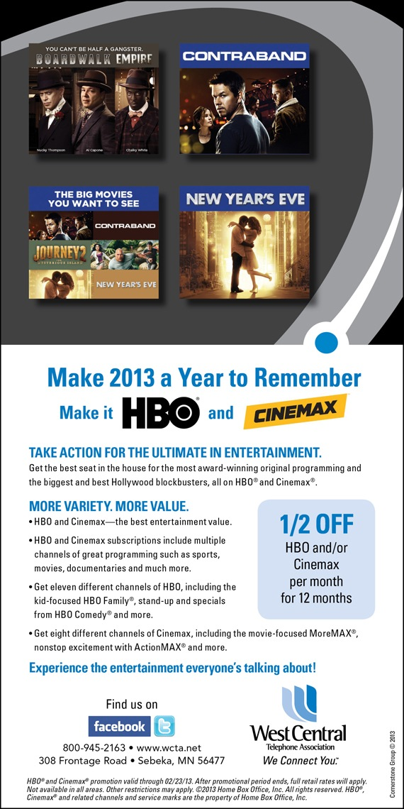 HBO/Cinemax Ad