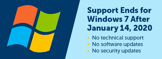 Windows 7 Support Ends - Download Graphics to View