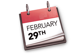 Happy Leap Year - Download Images to View